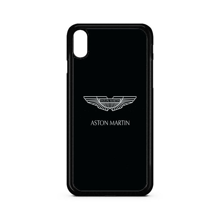 designer fashion 784b8 6b3ea Black White Aston Martin Logo iPhone X Case | Casecortez