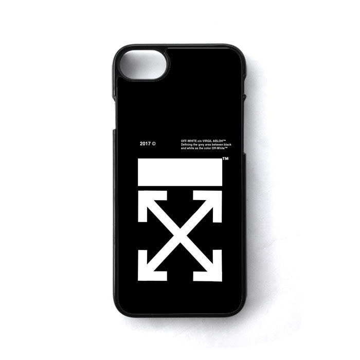 the best attitude bf85c 729a5 Off White Logo iPhone 8 Case | Casecortez