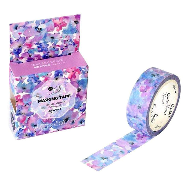 "Washi tape ""Fleur tendresse"" - MyCuteCactus"