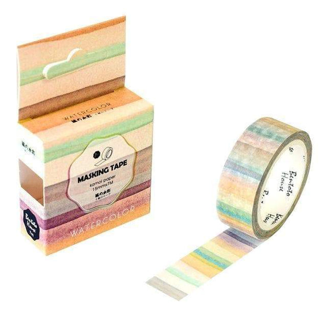 "Washi tape ""Arc-en-ciel pastel"" - MyCuteCactus"