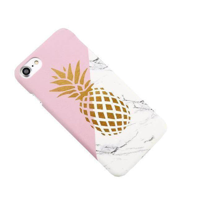 "Coque iPhone ""Ananas design"""