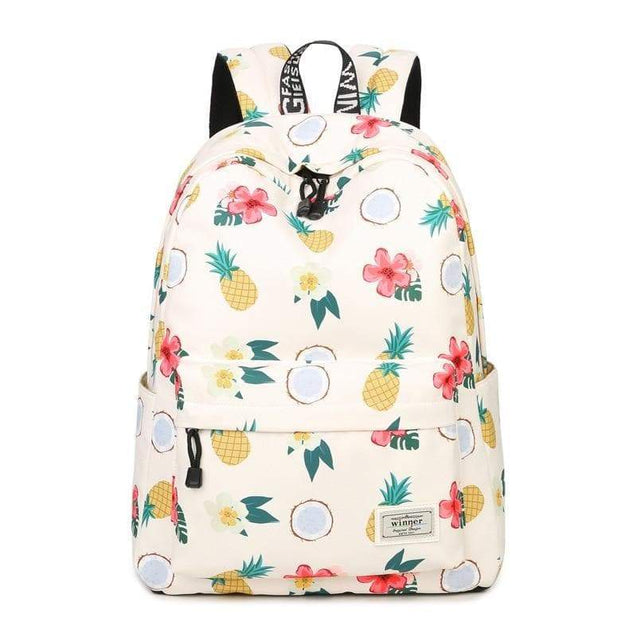"Cartable - Sac à dos ""FRUITS"" - MyCuteCactus"