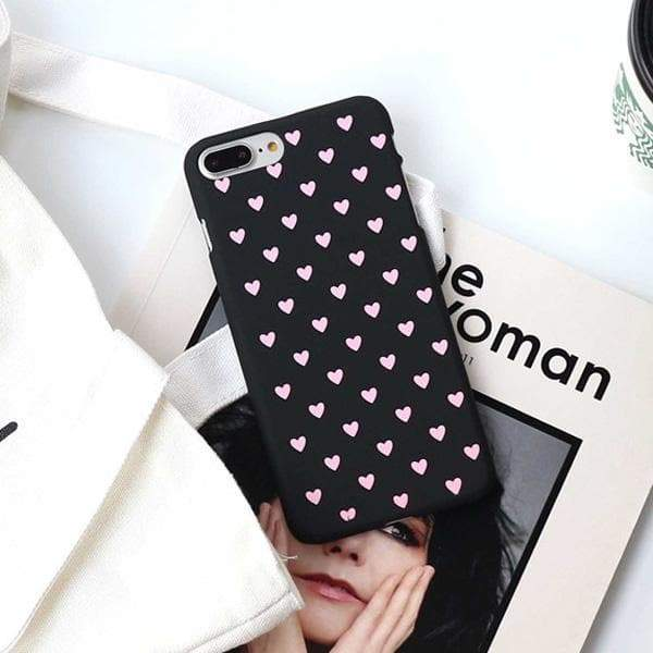 "Coques iPhone ""My sweet heart"" - MyCuteCactus"