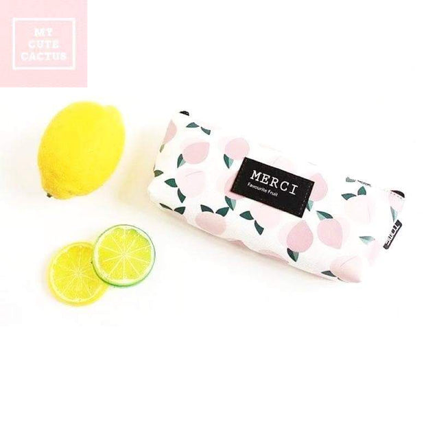 "Trousse ""Ma limonade"" - MyCuteCactus"