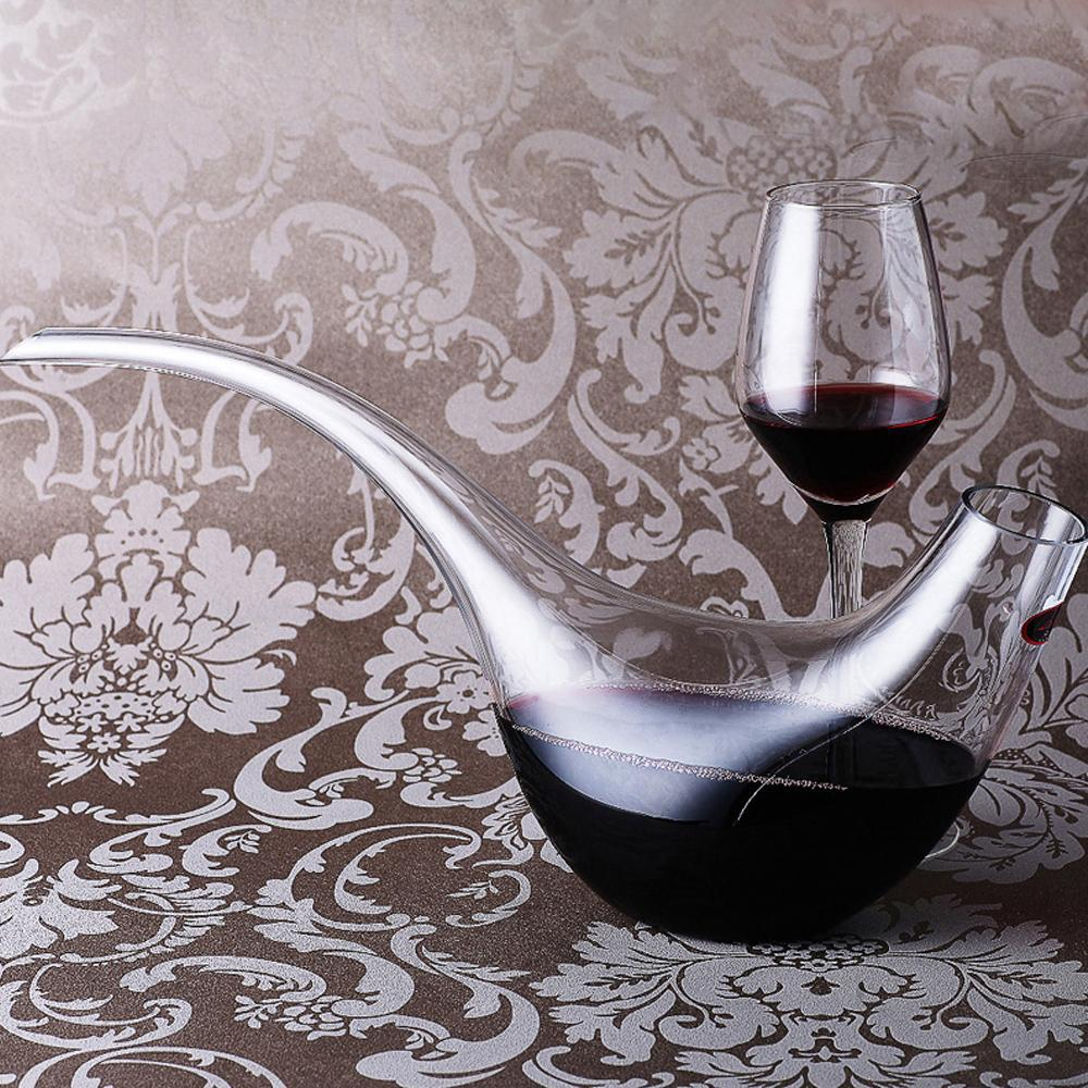 Glass Wine Decanter Fashion Bottle Jug Top Wine Aerator Wine glass