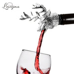 Stainless Steel Deer Stag Head Wine Head