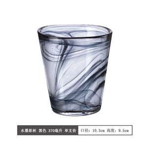 Household color crystal wine glass water tea cup drinkware 13