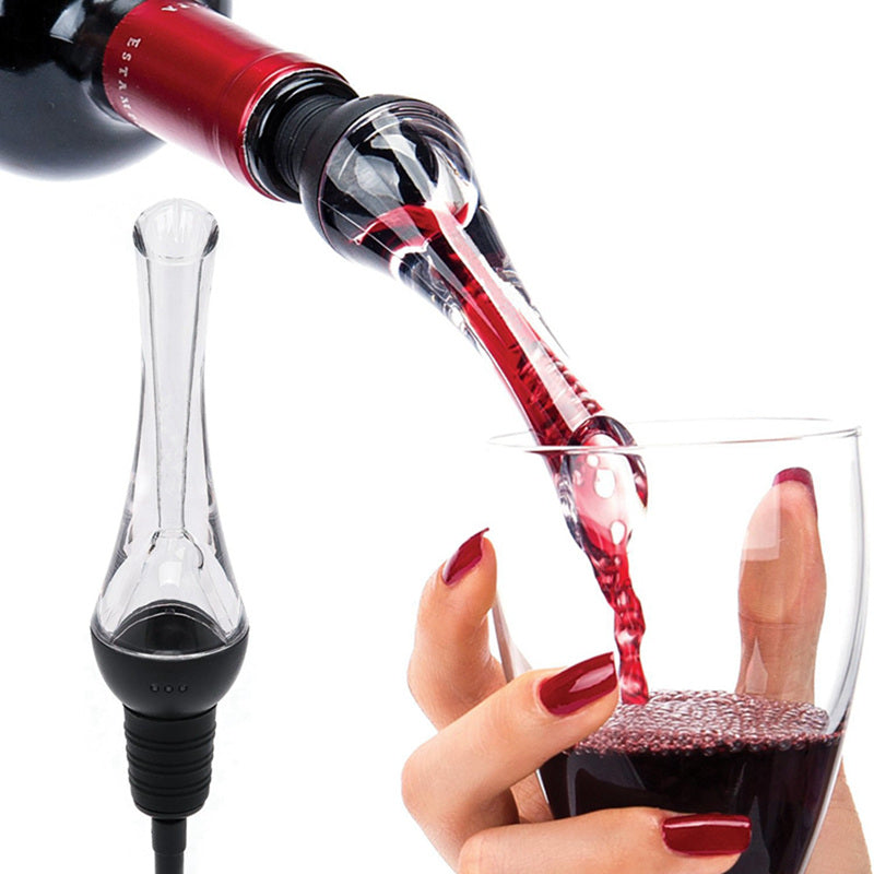 Red Wine Whiskey Magic Aerator Decanter Acrylic Wine Pourer