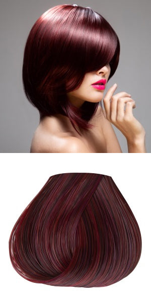 Adore Plus 374 Dark Red Brown