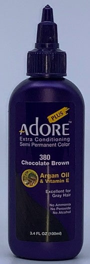 Adore Plus 380 Chocolate Brown