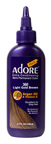Adore Plus 360 Light Gold Brown
