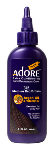 Adore Plus 372 Medium Red Brown