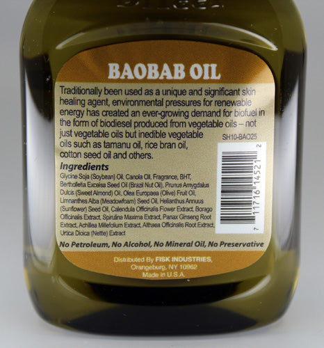 Premium Natural Hair Oil Baobab 2.5 fl oz/75ml