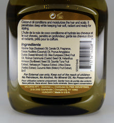 Premium Natural Hair Oil Coconut 2.5 fl oz/75ml