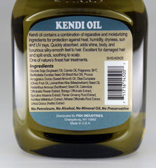 Premium Natural Hair Oil Kendi 2.5 fl oz/75ml