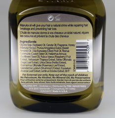 Premium Natural Hair Oil Manuka 2.5 fl oz/75ml