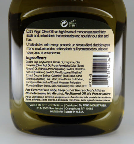Premium Natural Hair Oil Olive 2.5 fl oz/75ml