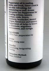 100% PURE ESSENTIAL OIL Peppermint 1floz/30ml
