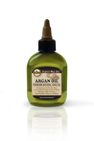 Premium Natural Hair Oil Argan 2.5 fl oz/75ml