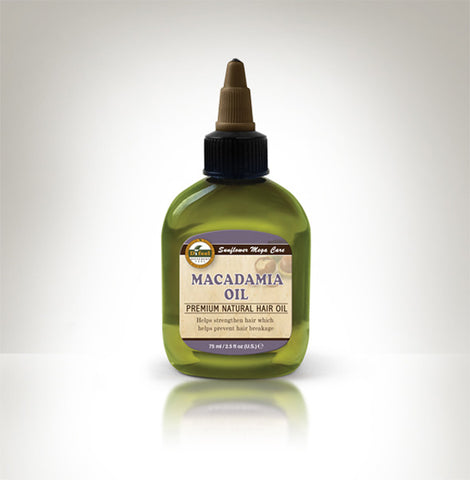 Premium Natural Hair Oil Macadamia 2.5 fl oz/75ml
