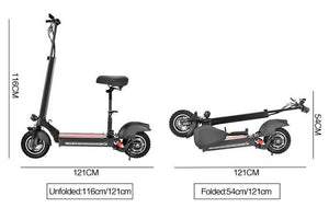 E5 Off Road Folding Electric Scooter