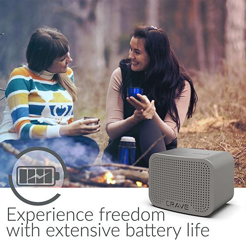 Crave Curve Mini Bluetooth Speaker 5-Watt