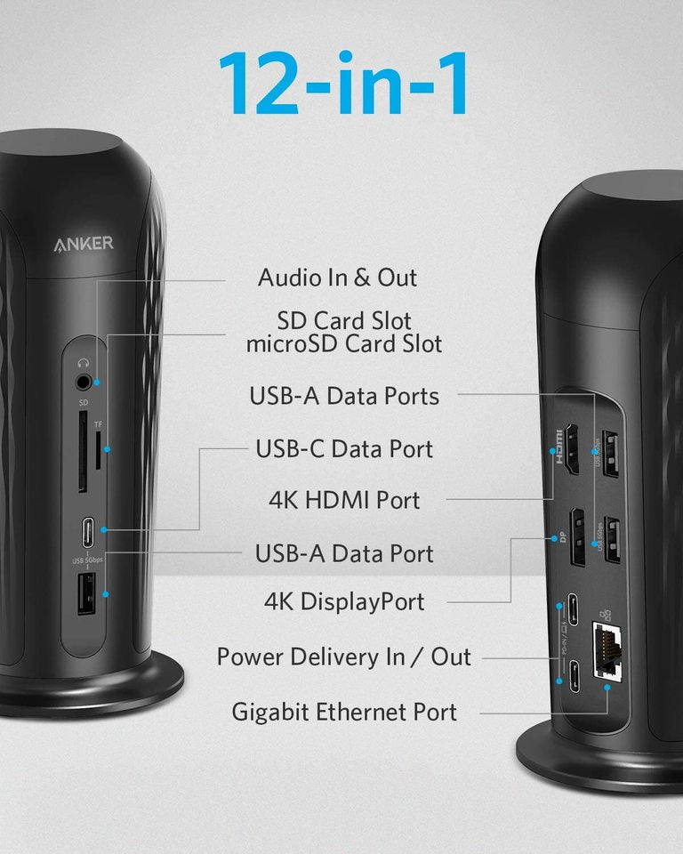 PowerExpand 12-in-1 USB-C Media Dock