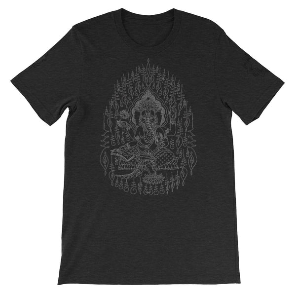 Tantrik Ganesh Version 2 Short-Sleeve Unisex T-Shirt