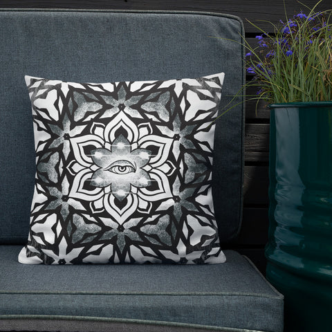 Star of the Macrocosm Throw Pillow
