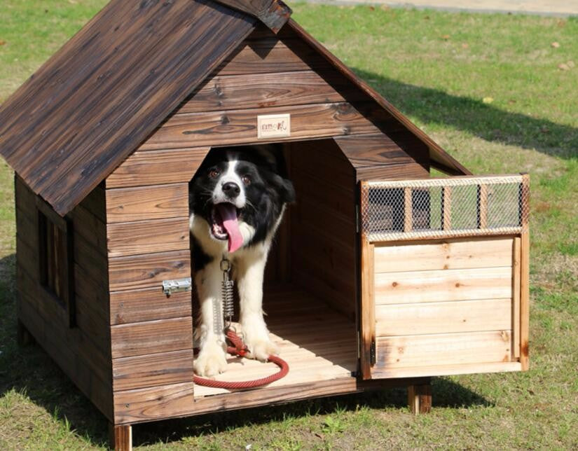 Anti Corrosion Solid Wood Dog House Housepawtee