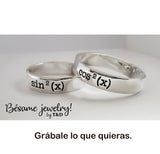 Argollas Novios 5 y 5 mm