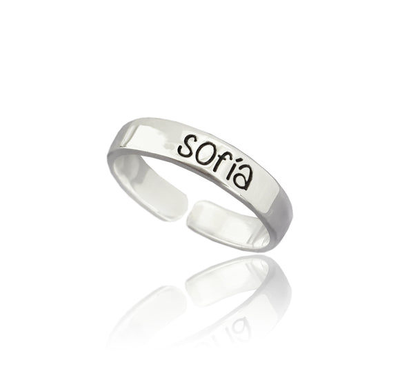 Slim ring personalizado