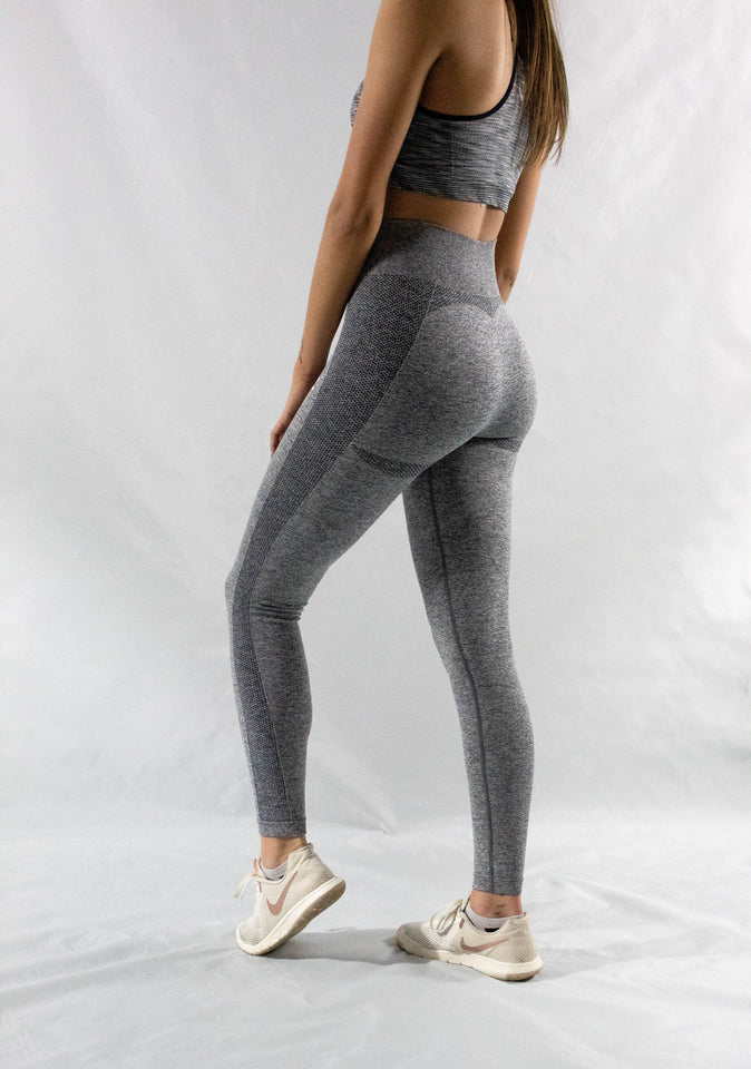 Grey Balance Leggings - Y.A.H.T. Club