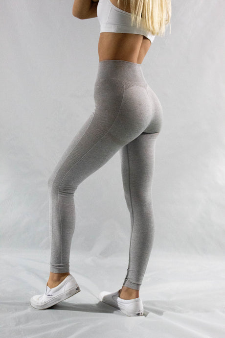 Light Gray Balance Leggings - Y.A.H.T. Club