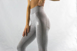 Light Grey Balance Leggings - Y.A.H.T. Club