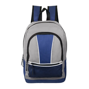 Wholesale 17 Inch Backpack - Assorted Colors - 24 Bags Per Case - Free Shipping