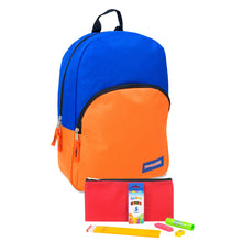 Preassembled 15 Inch Backpack & Basic School Supply Kit - 24 Kits Per Case - Free Shipping