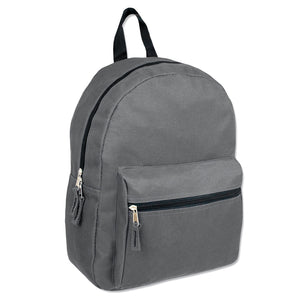 Wholesale 15 Inch Basic Backpack - 5 Colors - 24 Bags Per Case - Free Shipping
