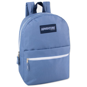 Wholesale 17 Inch Backpack - 8 Colors - 24 Bags Per Case - Free Shipping