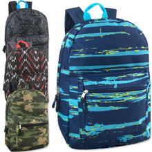 Wholesale 17 Inch Boys Printed Backpack - 24 Bags Per Case - Free Shipping