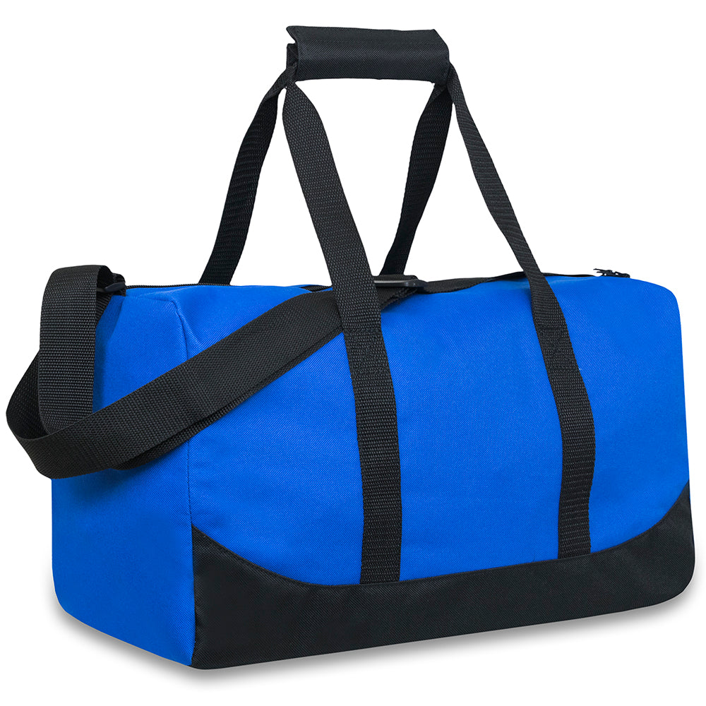 Wholesale 17 Inch Duffel Duffle Bag - Blue - 24 Bags Per Case - Free Shipping