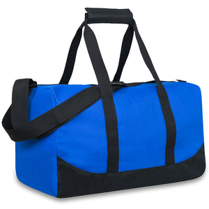 Wholesale 17 Inch Duffel Duffle Bag - Assorted Colors - 24 Bags Per Case - Free Shipping