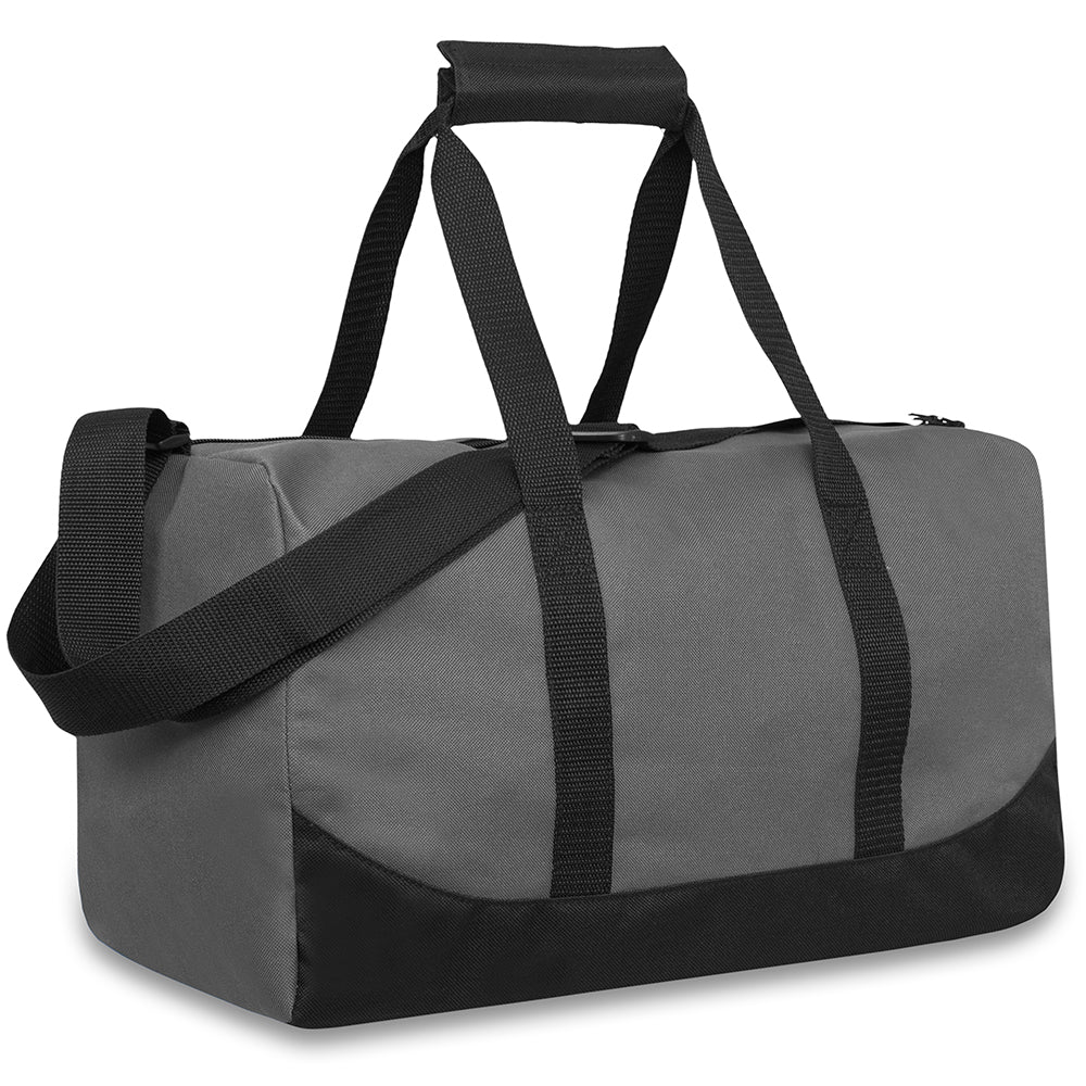 Wholesale 17 Inch Duffel Duffle Bag - Gray - 24 Bags Per Case - Free Shipping