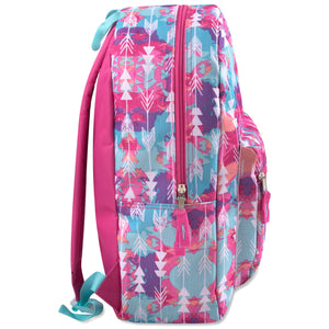 Wholesale 17 Inch Girls Printed Backpack - 24 Bags Per Case - Free Shipping