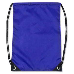Wholesale 18 Inch Basic Drawstring Backpack Bag - 5 Colors - 48 Bags Per Case - Free Shipping