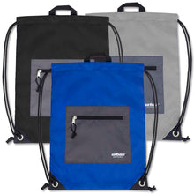 Wholesale 18 Inch Drawstring Backpack Bag - 3 Colors - 48 Bags Per Case - Free Shipping