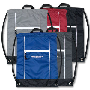 Wholesale 18 Inch Drawstring Backpack Bag - 5 Colors - 48 Bags Per Case - Free Shipping