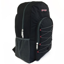 Wholesale 19 Inch Bungee Backpack - Black - 24 Bags Per Case - Free Shipping