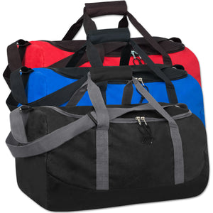 Wholesale 20 Inch Duffel Duffle Bag - Assorted Colors - 24 Bags Per Case - Free Shipping