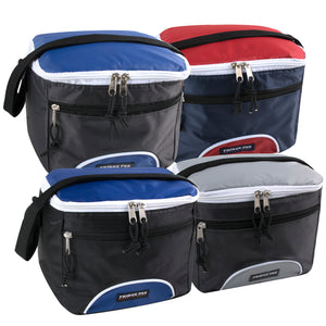 Wholesale Cooler Lunch Bag - Assorted Colors - 24 Bags Per Case - Free Shipping